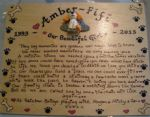 3d Pet Angel In Memory Of Tribute Personalised Memorial Poem Plaque A4 sized Sign Handmade Cat Dog Rabbit Guine Pig Any animal